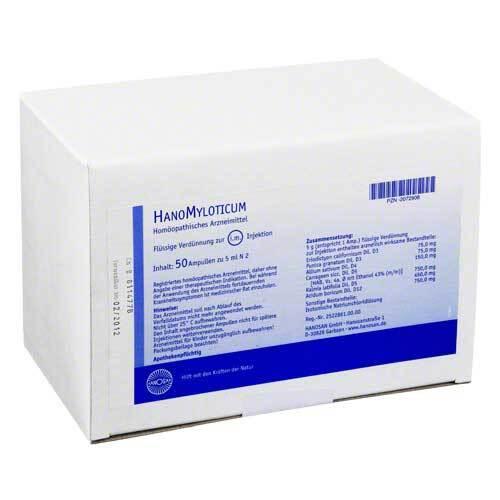 Hanomyloticum Injektionslösung - 1