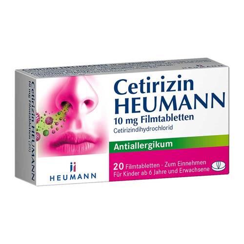 Cetirizin Heumann 10 mg Filmtabletten - 1