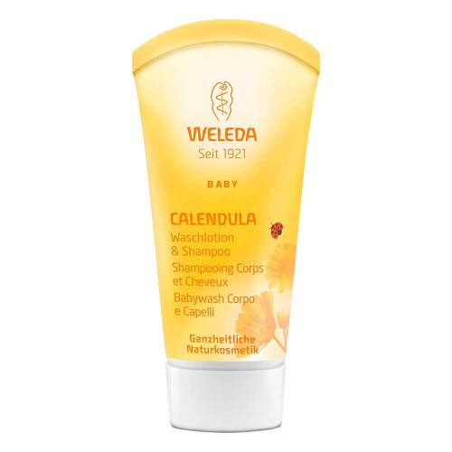 weleda calendula waschlotion shampoo bei aponeo kaufen. Black Bedroom Furniture Sets. Home Design Ideas