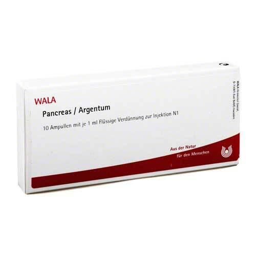 Pancreas / Argentum Ampullen - 1