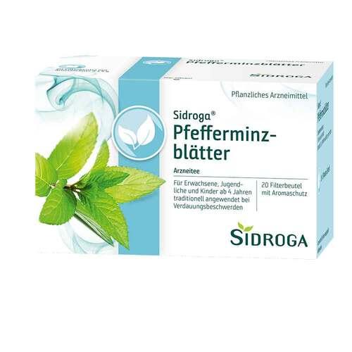 Sidroga Pfefferminzblätter Tee Filterbeutel - 1