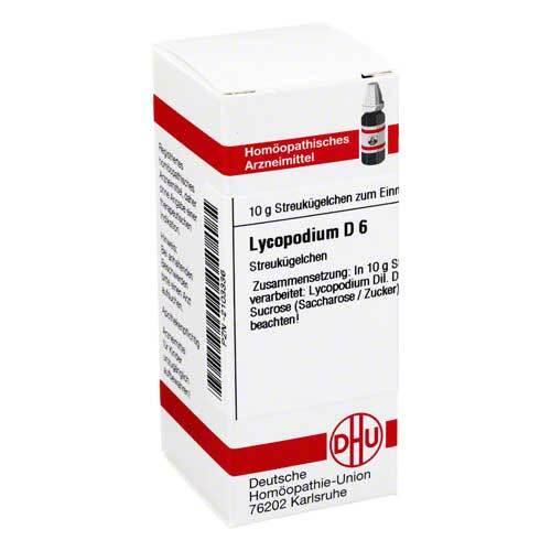 Lycopodium D 6 Globuli - 1