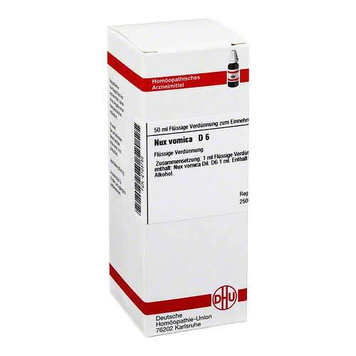 DHU Nux vomica D 6 Dilution - 1