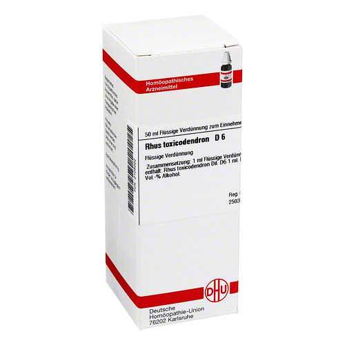 DHU Rhus toxicodendron D 6 Dilution - 1