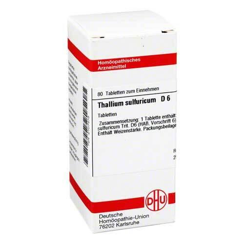 Thallium sulfuratum D 6 Tabletten - 1