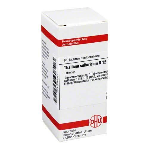 DHU Thallium sulfuratum D 12 Tabletten - 1