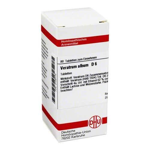 DHU Veratrum album D 6 Tabletten - 1