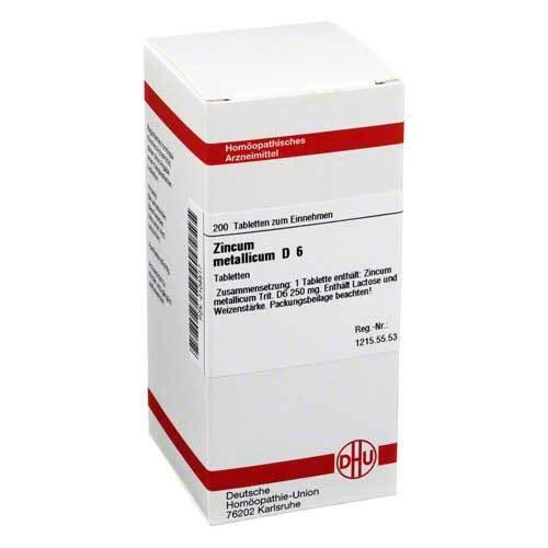DHU Zincum metallicum D 6 Tabletten - 1