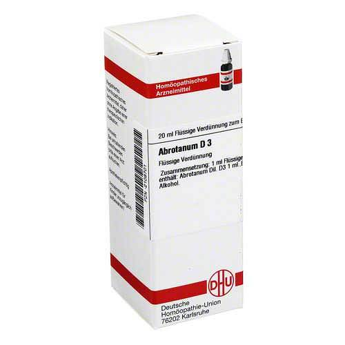 DHU Abrotanum D 3 Dilution - 1