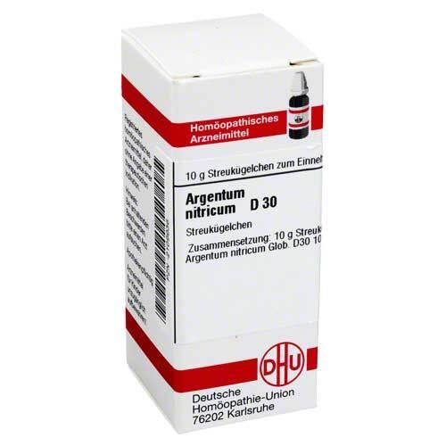 Argentum nitricum D 30 Globuli - 1