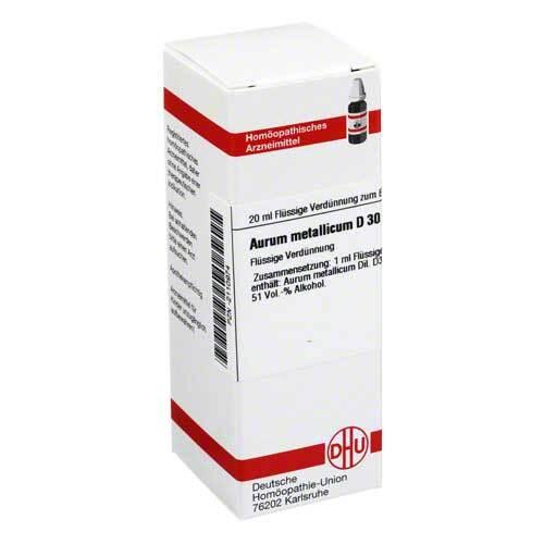 Aurum metallicum D 30 Dilution - 1