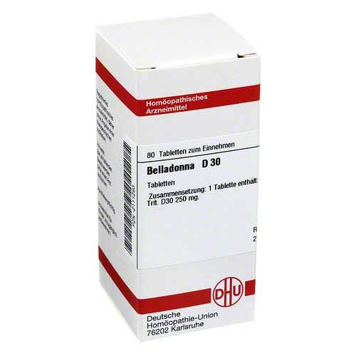 DHU Belladonna D 30 Tabletten - 1