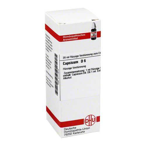 Capsicum D 6 Dilution - 1