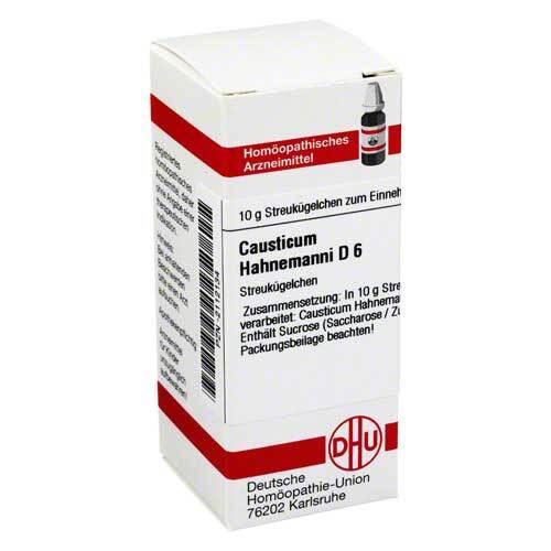 Causticum Hahnemanni D 6 Globuli - 1