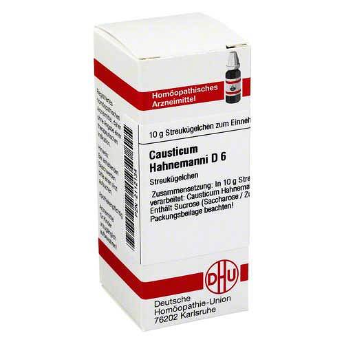 DHU Causticum Hahnemanni D 6 Globuli - 1