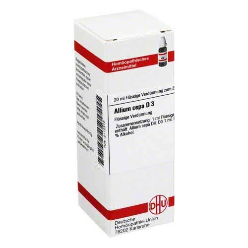 Allium cepa D 3 Dilution - 1