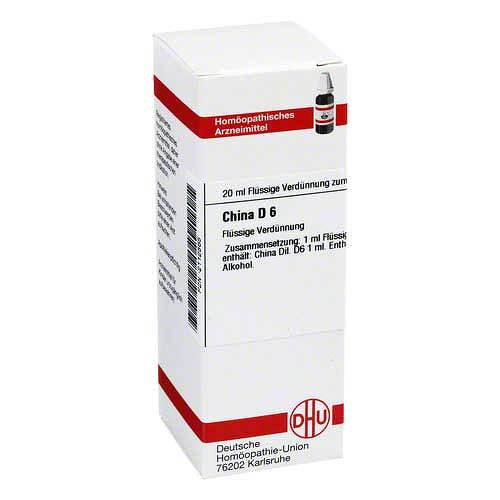 DHU China D 6 Dilution - 1