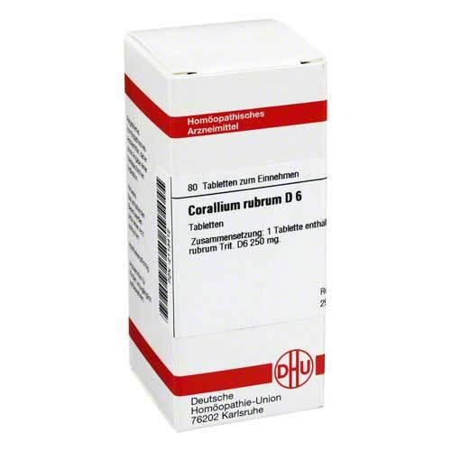 Corallium rubrum D 6 Tabletten - 1