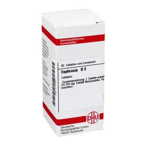 Euphrasia D 3 Tabletten - 1