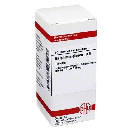 Galphimia glauca D 6 Tabletten - 1