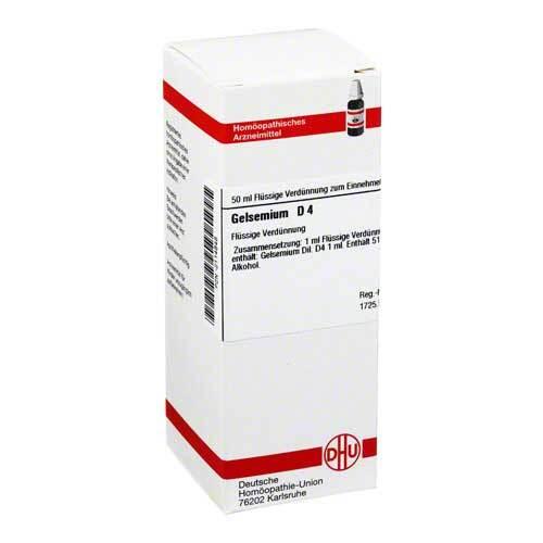 Gelsemium D 4 Dilution - 1