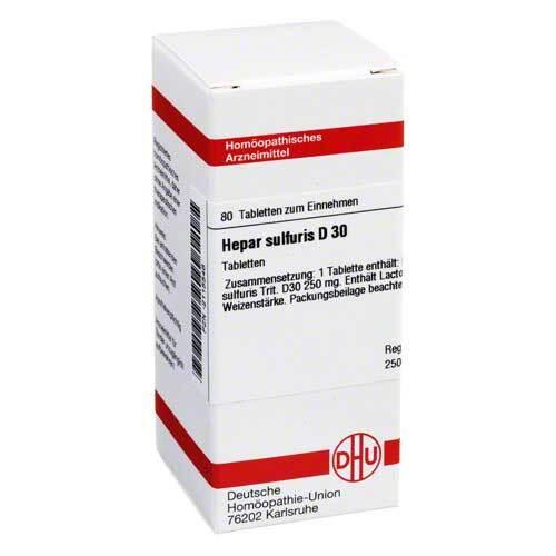 Hepar sulfuris D 30 Tabletten - 1