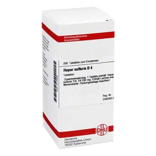 DHU Hepar sulfuris D 4 Tabletten - 1