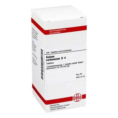Kalium carbonicum D 4 Tabletten - 1