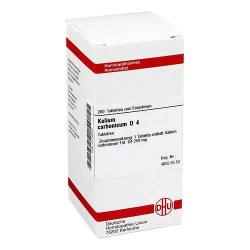 DHU Kalium carbonicum D 4 Tabletten - 1
