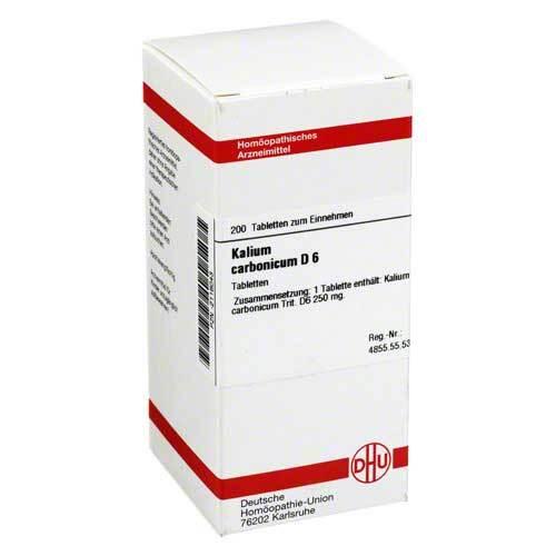 Kalium carbonicum D 6 Tabletten - 1