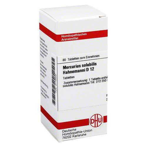 DHU Mercurius solubilis D 12 Tablet - 1