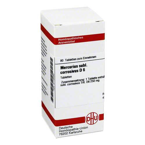 Mercurius sublimatus corrosivus D 6 Tabletten - 1