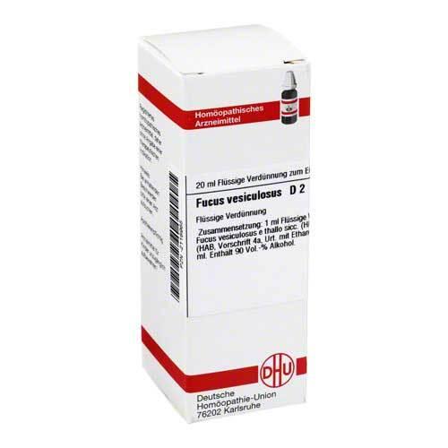 DHU Fucus vesiculosus D 2 Dilution - 1