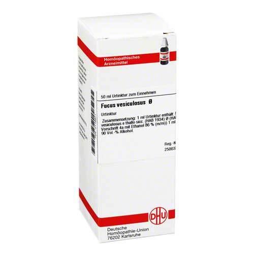 DHU Fucus vesiculosus Urtinktur - 1