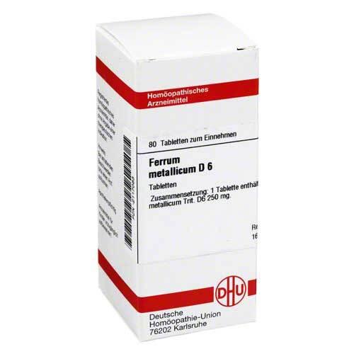 DHU Ferrum metallicum D 6 Tabletten - 1
