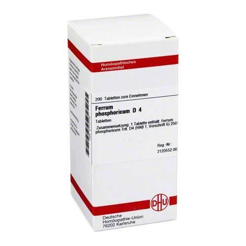 DHU Ferrum phosphoricum D 4 Tabletten - 1