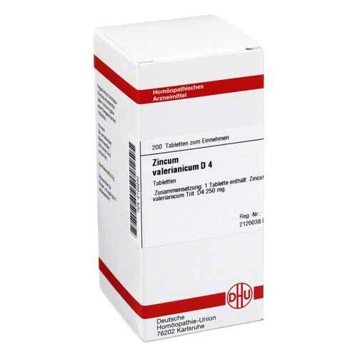 DHU Zincum valerianicum D 4 Tabletten - 1