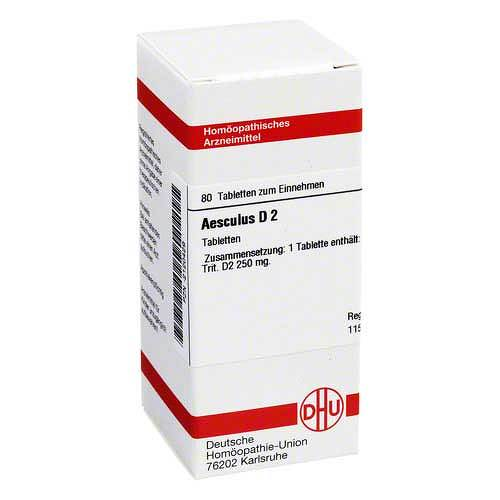 Aesculus D 2 Tabletten - 1