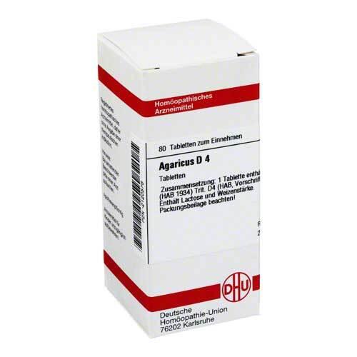 Agaricus D 4 Tabletten - 1