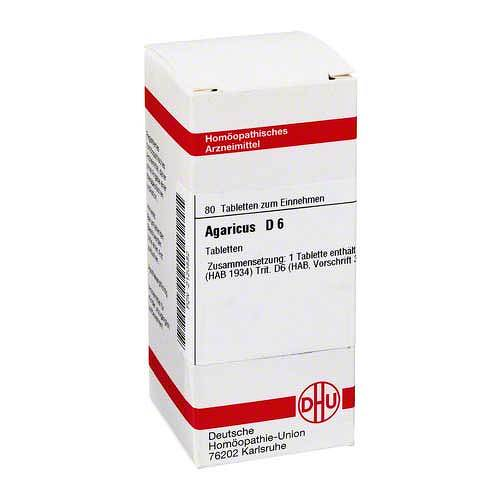 DHU Agaricus D 6 Tabletten - 1