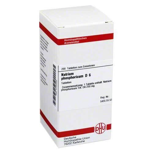 DHU Natrium phosphoricum D 6 Tabletten - 1