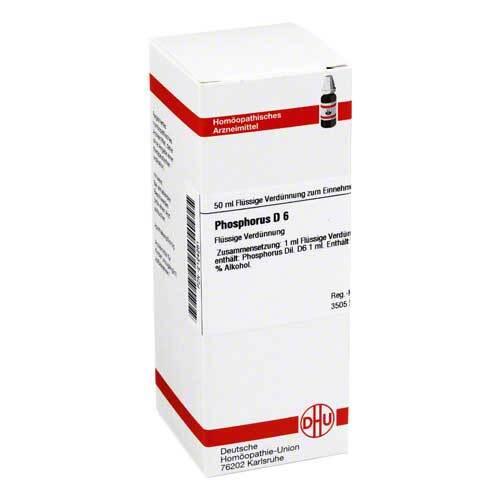 DHU Phosphorus D 6 Dilution - 1