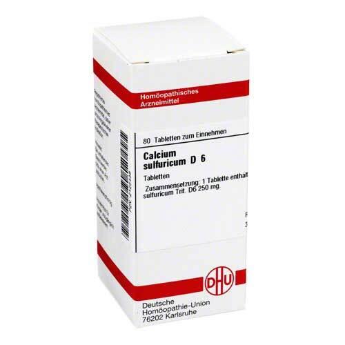 Calcium sulfuricum D 6 Tabletten - 1