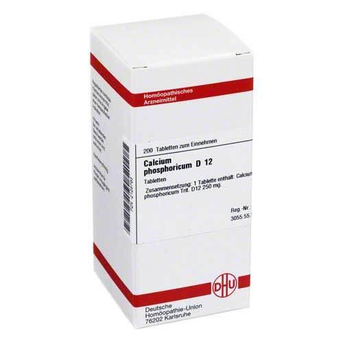 Calcium phosphoricum D 12 Tabletten - 1