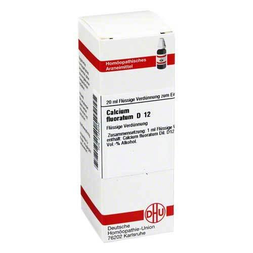 DHU Calcium fluoratum D 12 Dilution - 1