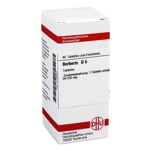 DHU Berberis D 6 Tabletten - 1