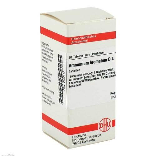 Ammonium bromatum D 4 Tabletten - 1