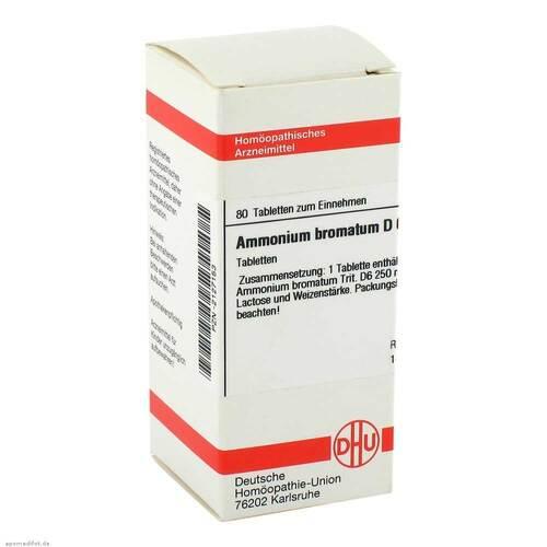 DHU Ammonium bromatum D 6 Tabletten - 1