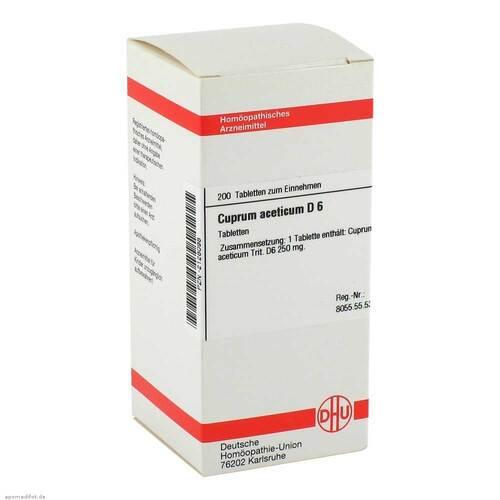 Cuprum aceticum D 6 Tabletten - 1