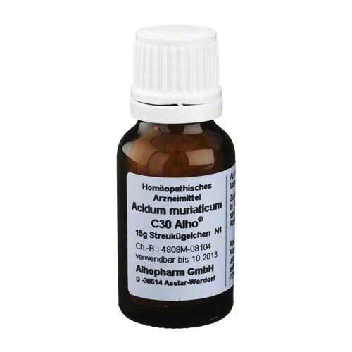 Acidum muriaticum C 30 Globuli - 1